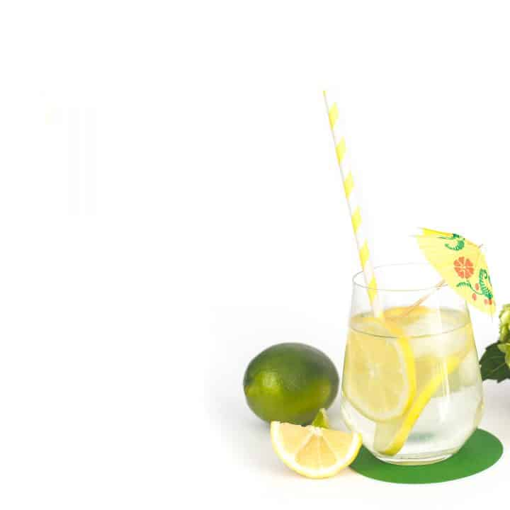 lemon detox water