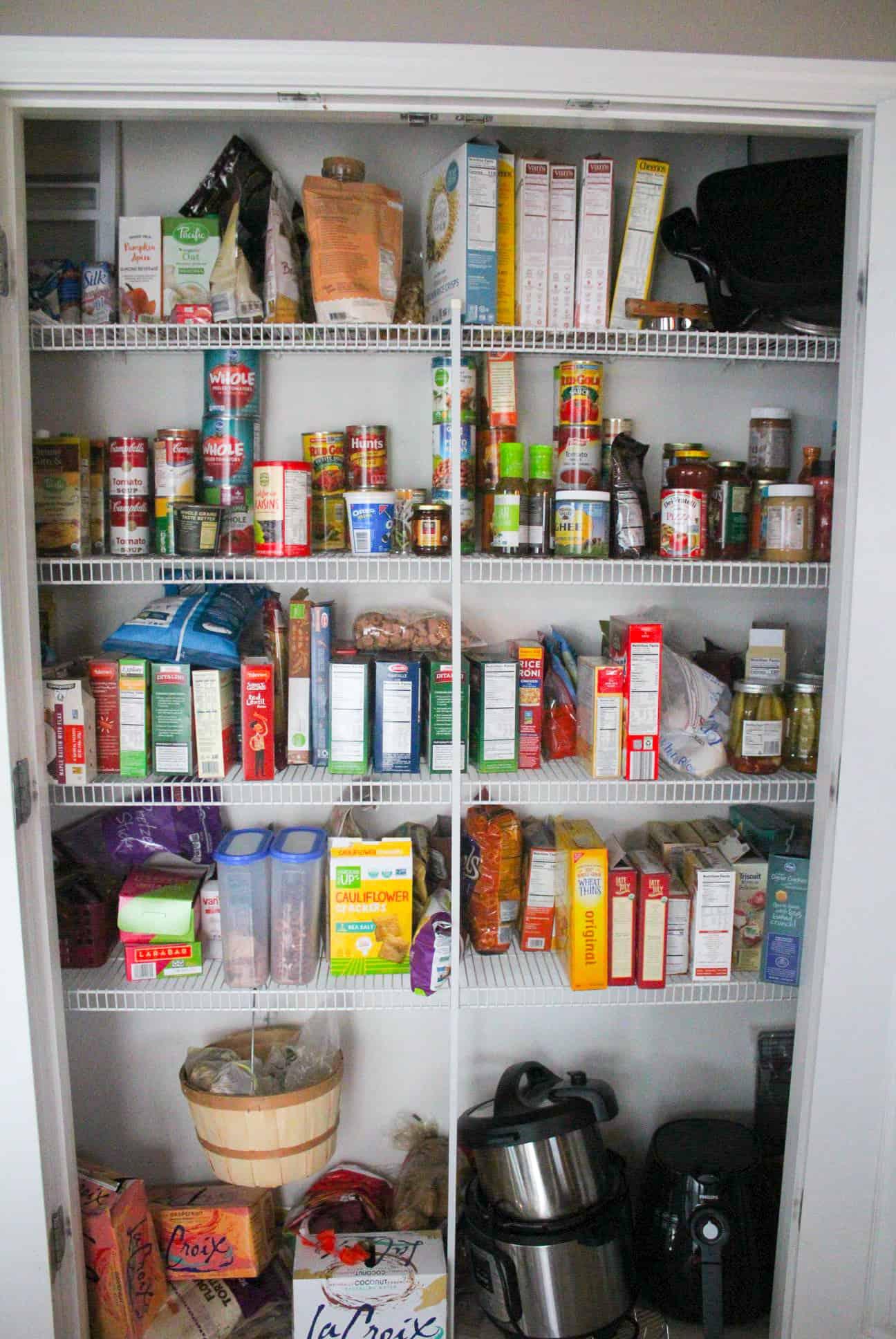 Disorganized Pantry