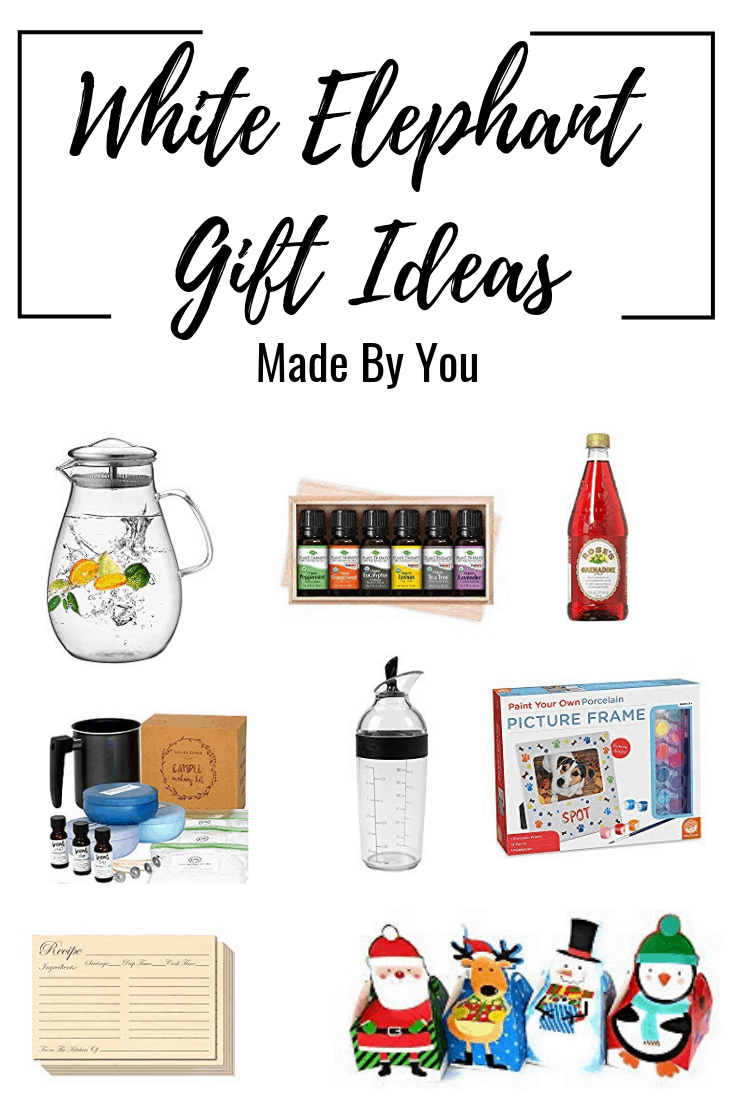 DIY White Elephant Gifts