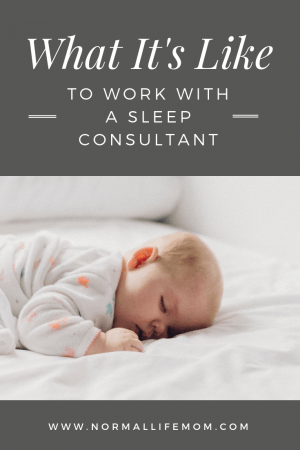 What it is really like to work with a pediatric sleep consultant. Does working with a sleep consultant really work? Can your baby really sleep independently? #babysleep #sleepconsultant #babyschedule #babynaps #napschedule