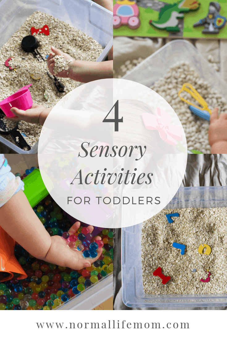 Indoor Sensory Bins For Toddlers