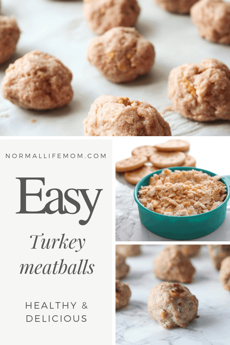 Easy turkey meatballs that are healthy and also delicous