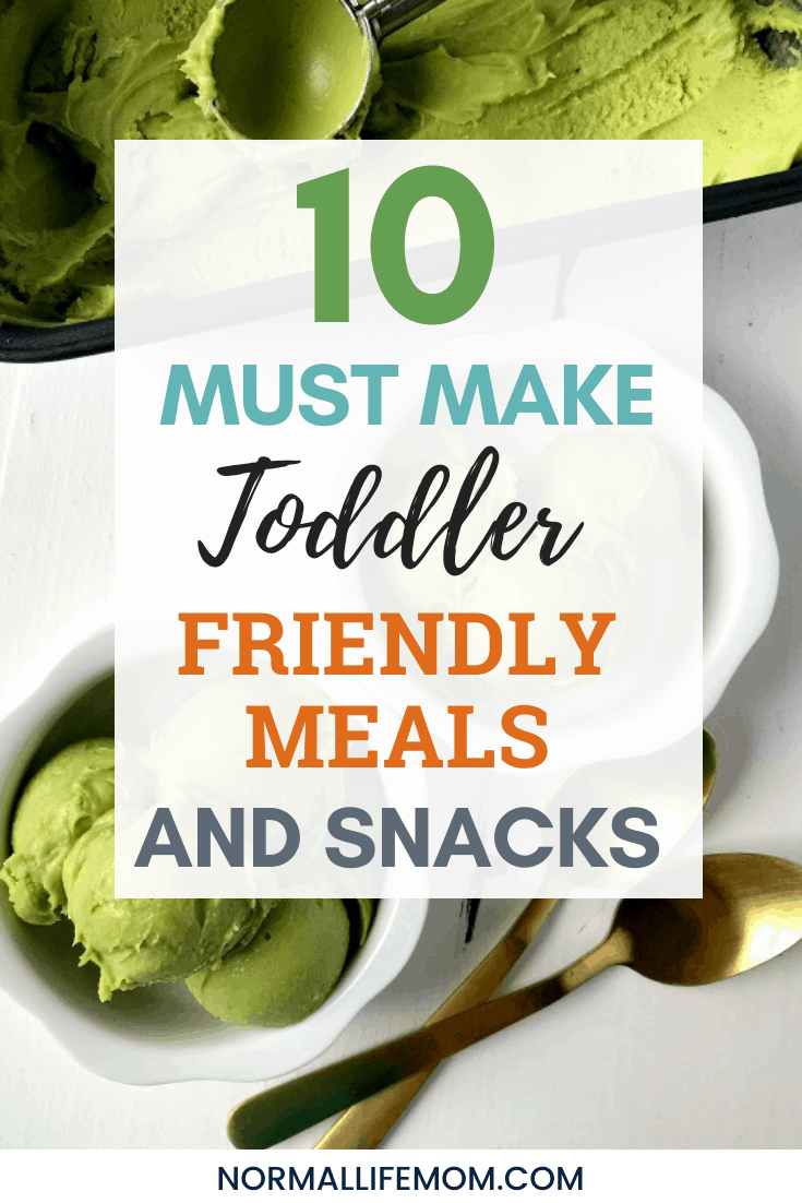 10 Healthier toddler meals that your kids MAY actually try! Easy and delicious recipes and snack ideas that your toddlers will love. #toddlerfood #toddlersnacks #toddlermeals #pickyeaters #healthiertoddlerfood #toddlerfoodideas #toddlerfoodrecipes #toddlerfoodideashealthy #toddlerfoodrecipes