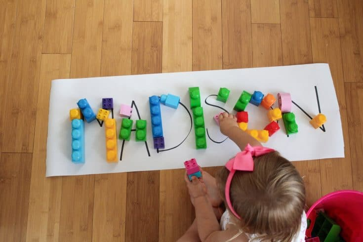Handwriting Activity For Preschoolers