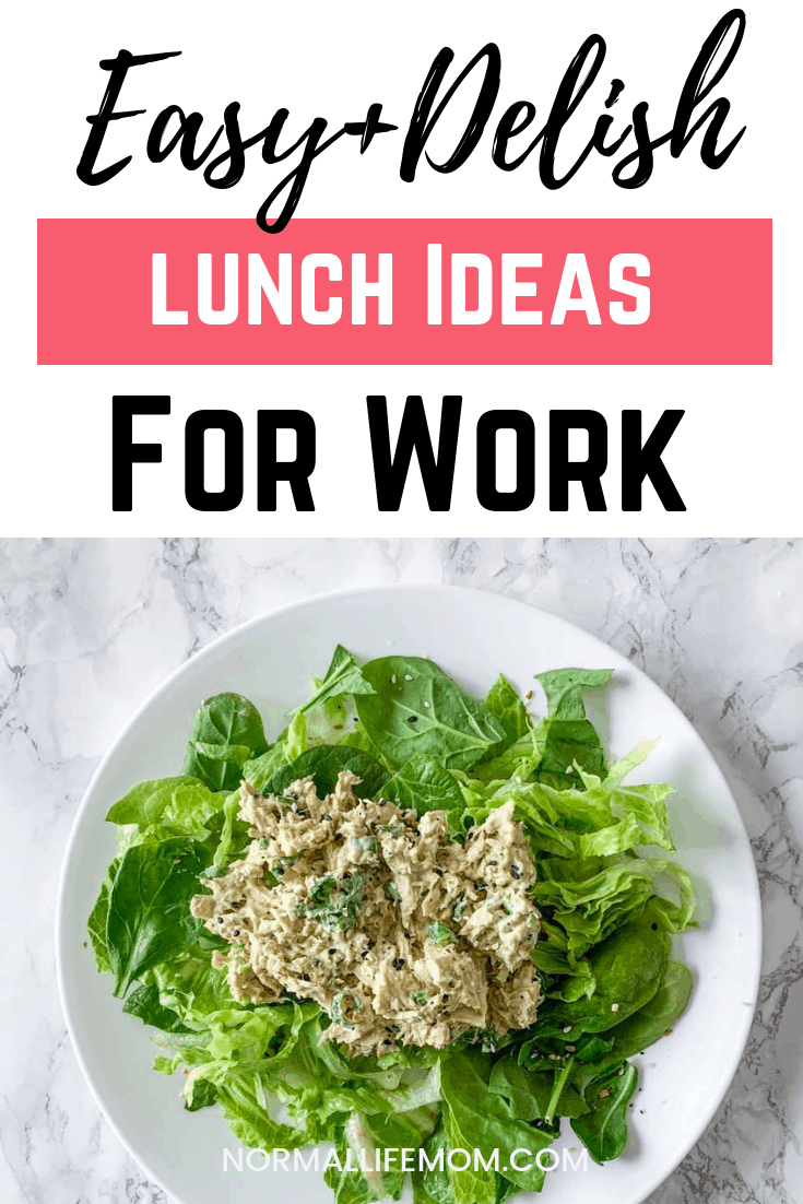 Easy and delicious lunch ideas for the workweek. Gluten free lunch ideas that are extremely easy to put together and don't require a recipe #glutenfree #lunchideas #lunch #easylunchideas