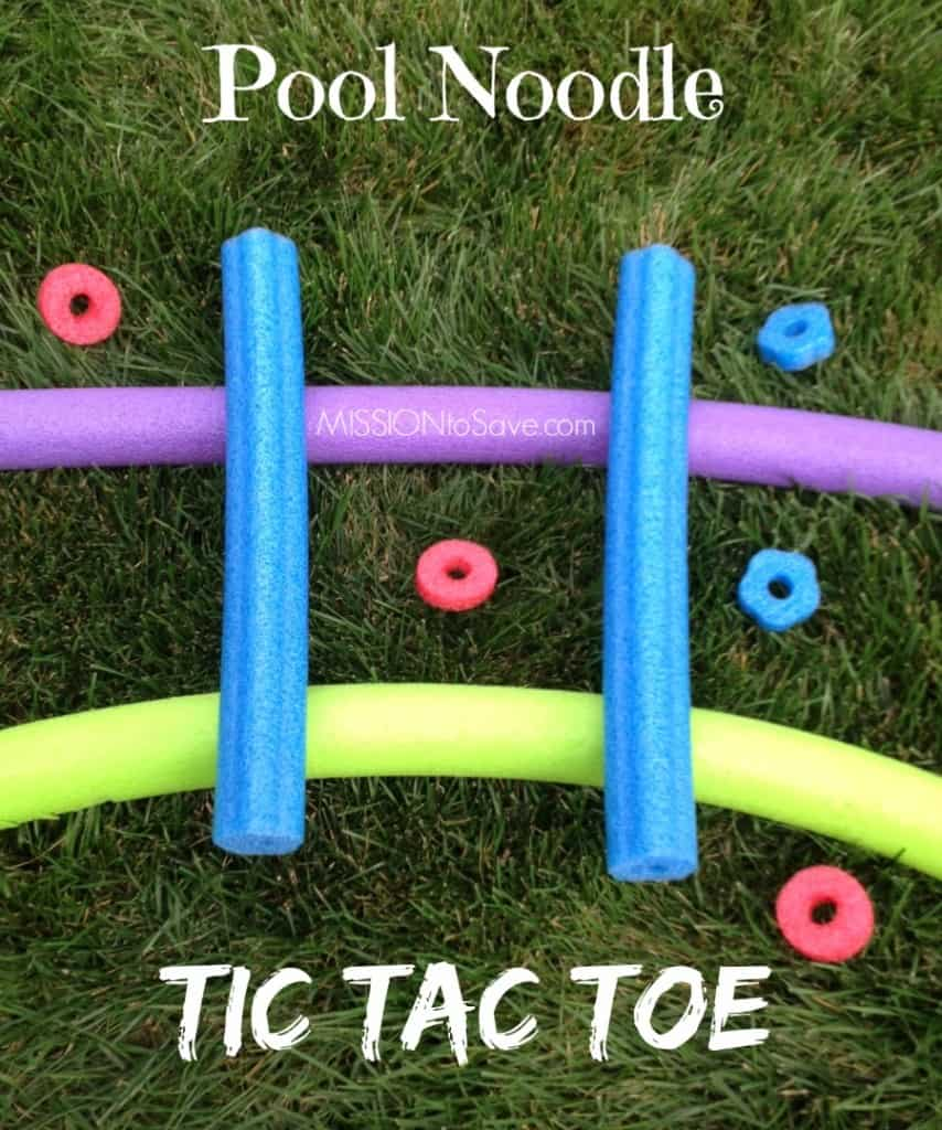 Pool Noddle games for toddlers