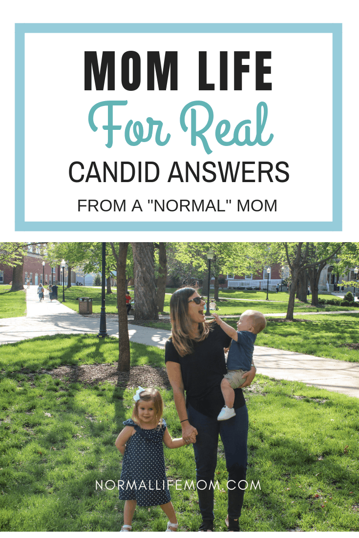 Some real life answers from a Normal Life mom. Capturing candid honest questions about the first years of motherhood and what it is really like. Mom hood and mom advice #momlife #momadvice #motherhood #parenting #firsttimemom #momadvice
