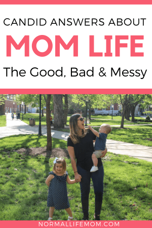 A look at motherhood, the good the bad and the messy. Honest questions about motherhood, labor, and pregnancy from Normal Life Mom. Real answers about motherhood including mom hacks, mom shaming and more. #momhacks #motherhood #momlife #momshaming #momanswers