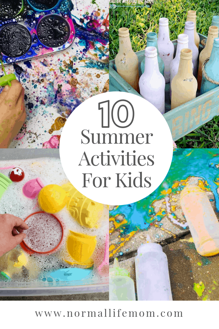 The best summer activities for toddlers and preschoolers #summerfun #summeractivities #preschool #homeschool #DIY #summerfun