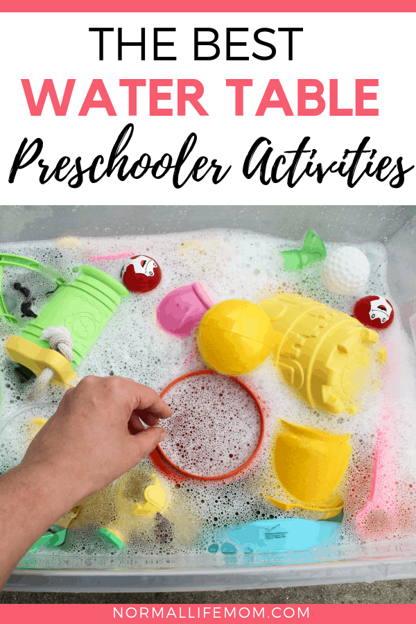 Fun and easy homemade water tables for endless summer fun. These amazing toddler activities are simple and require minimal setup #preschoolwateractivities #preschool #summeractivities #summerwaterplay #summerideas #summerfun