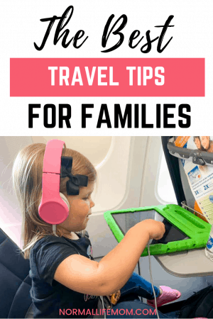The best family travel tips for traveling with young babies and toddlers. A guide to walk you through traveling at the airport and what to do to plan ahead when you get there #familytravel #traveltipcs #travelhacks #familytraveltips #travelingwithkids #travelingwithbaby