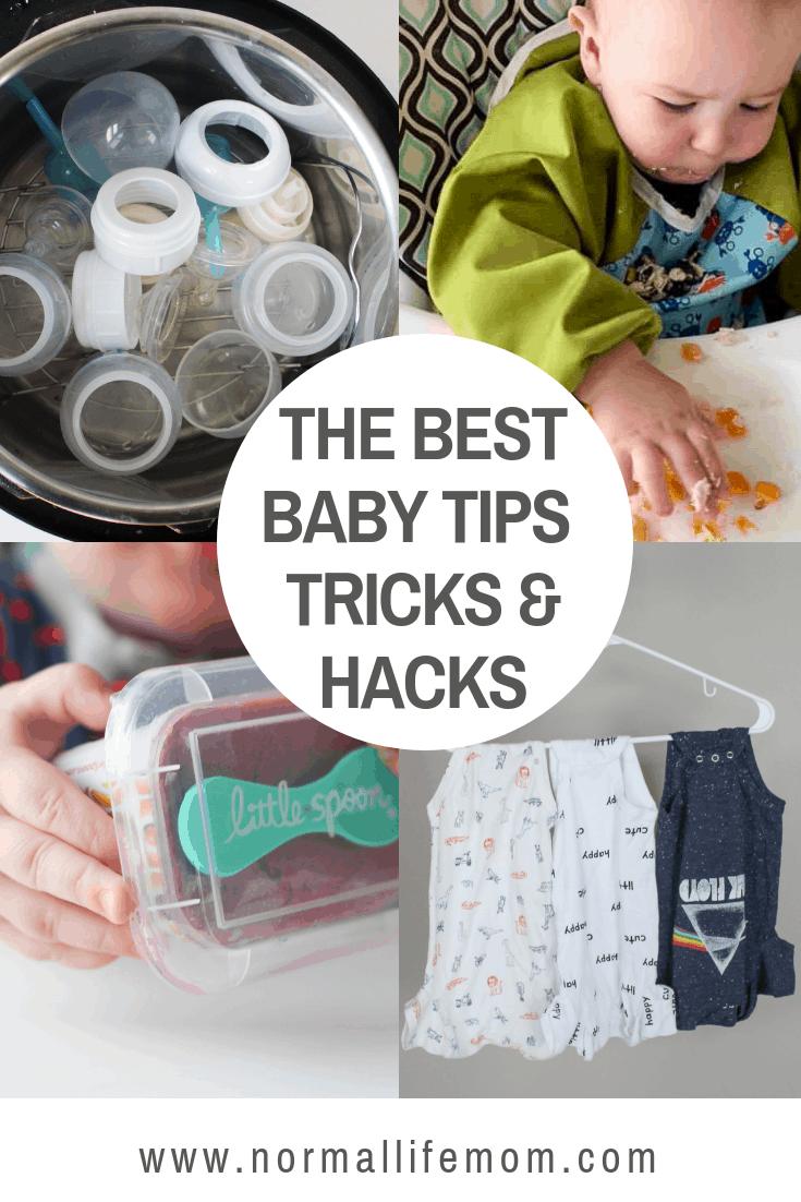 The best baby tips, trick, and hacks for getting through babies first year #babytipcs #babytricks #babyhacks #newmomhacks #newborn