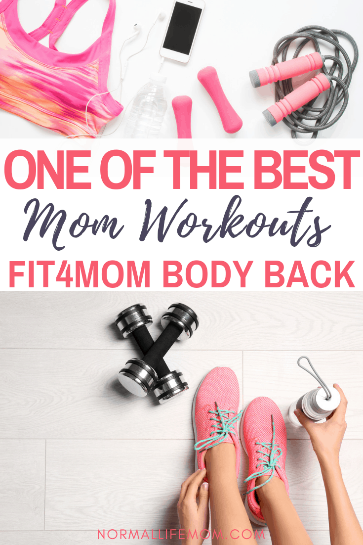 fit4mom body back review. One of the best mom centered work out program for moms looking to get their body back.