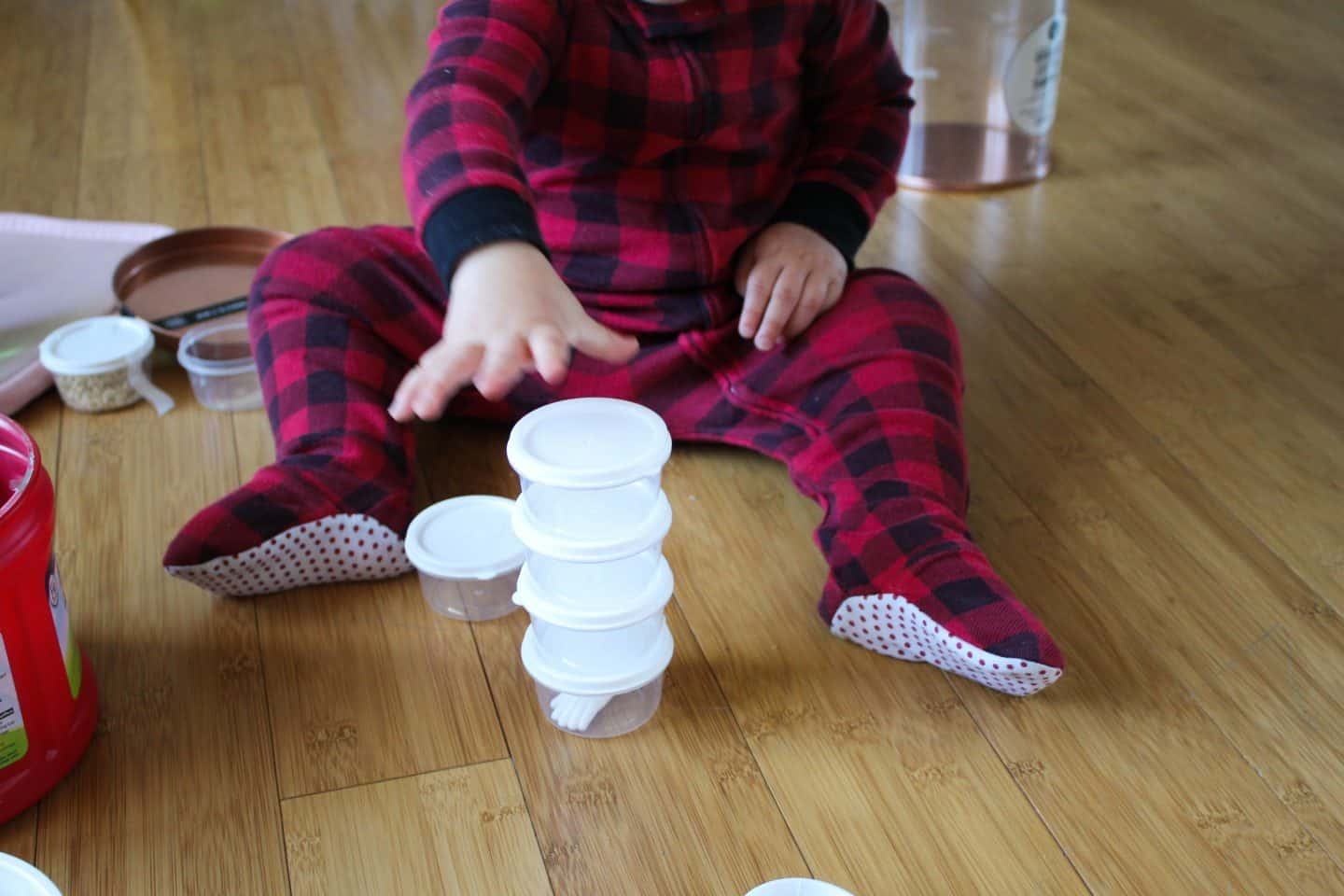 nesting and stacking blocks for babies
