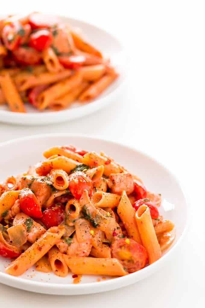 dairy free pasta dish