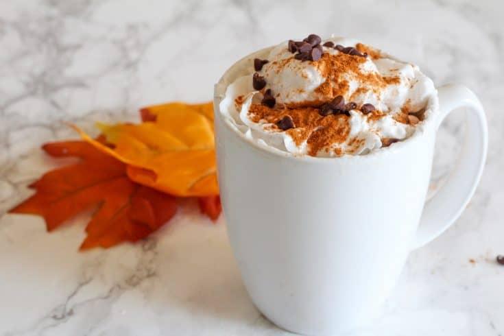 Dairy Free Pumpkin Pie Coffee