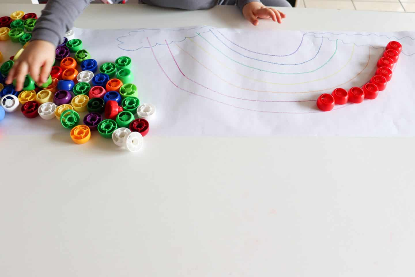butcher block paper for playroom