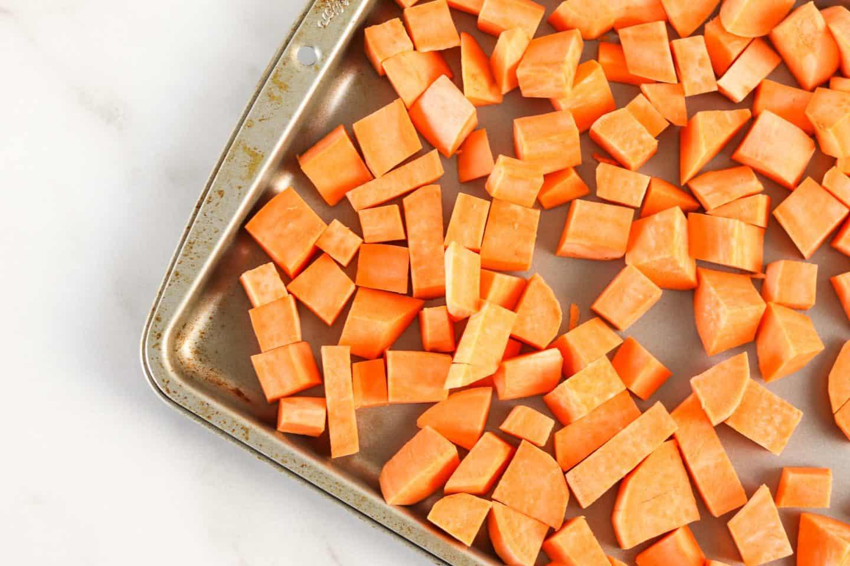 healthy oven roasted sweet potatoes