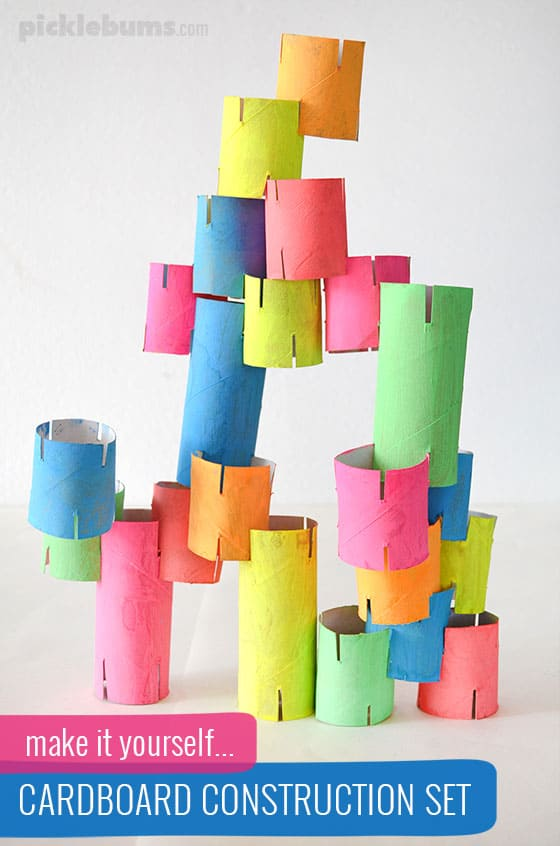 cardboard construction tubes