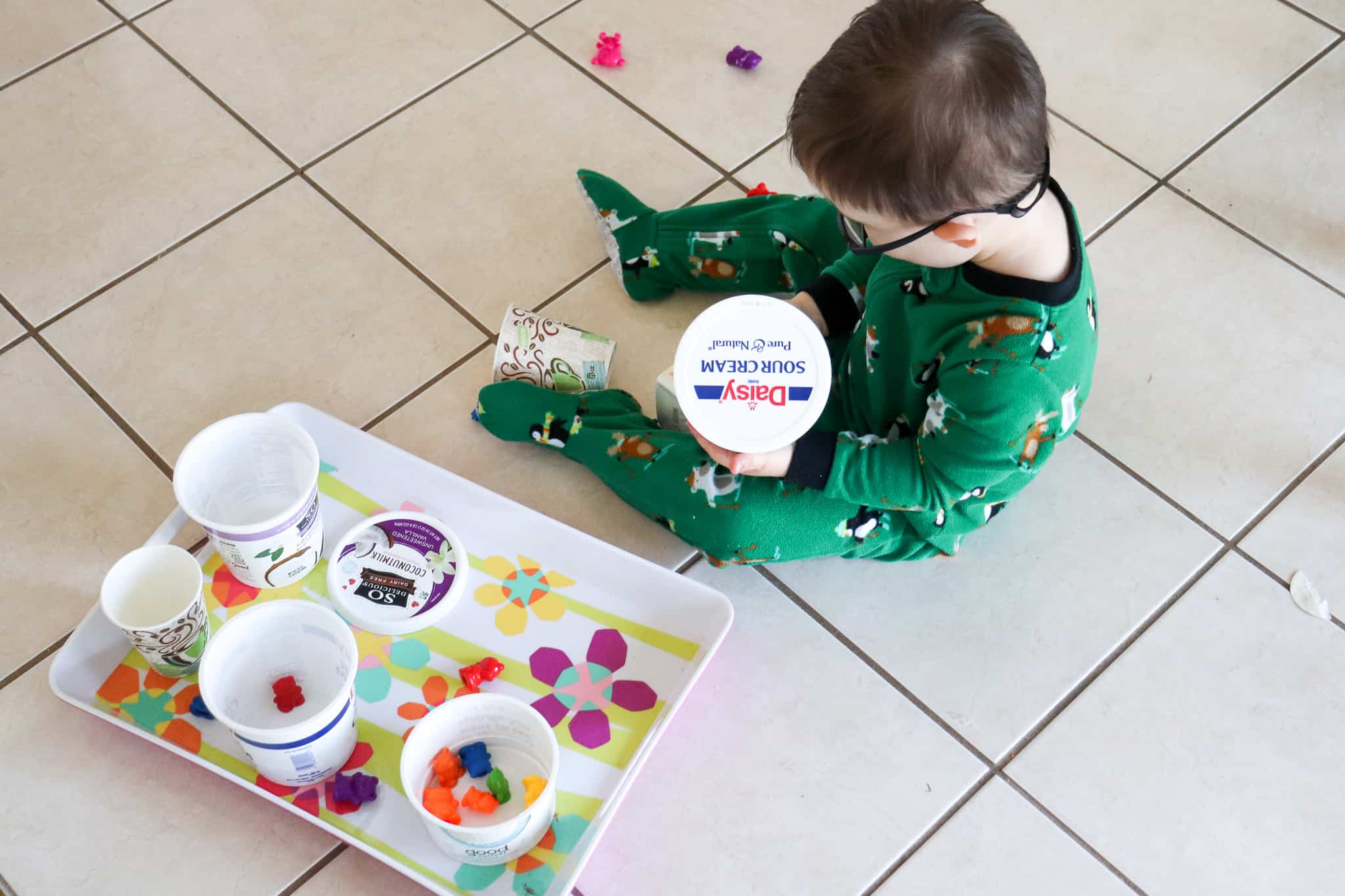 Low Prep Toddler Activity