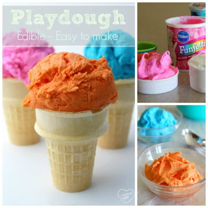 two ingredient playdough