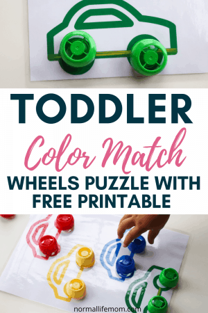 toddler color matching activity