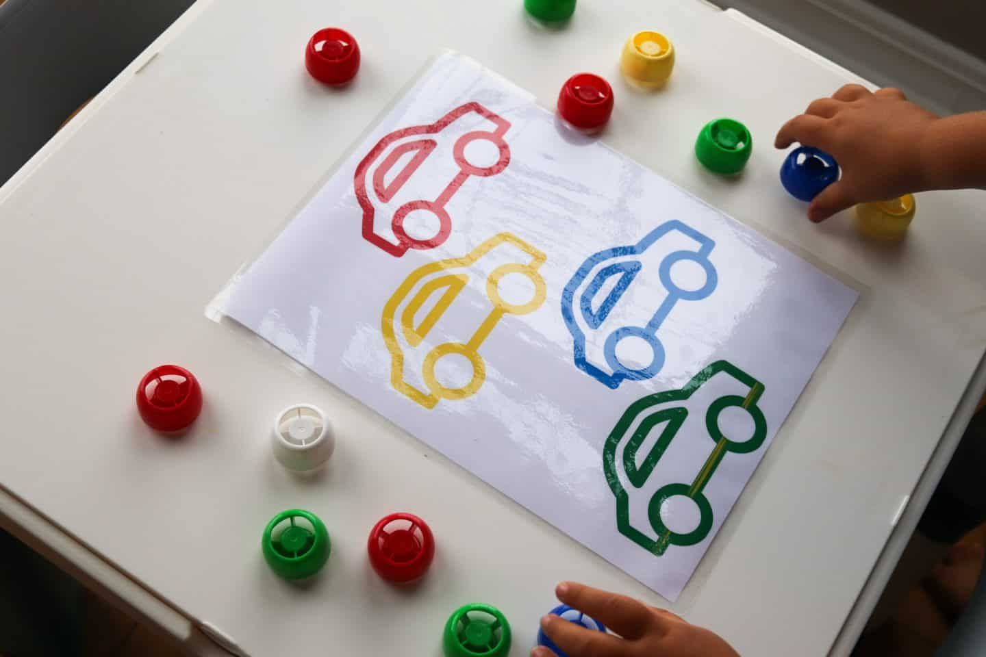 simple color matching games
